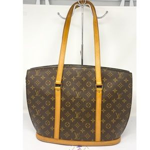 Louis Vuitton Monogram Babylon Tote Bag